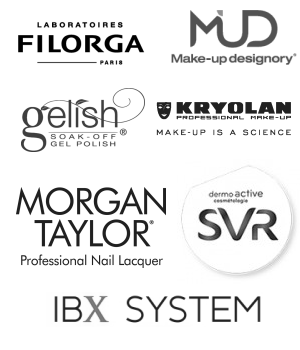 Stockists of Filorga, MUD, Gelish, OPI, Morgan Taylor, SVR, IBX System